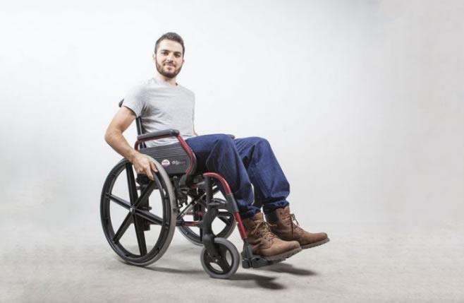 Las personas en sillas de ruedas necesitan espacios inclusivos