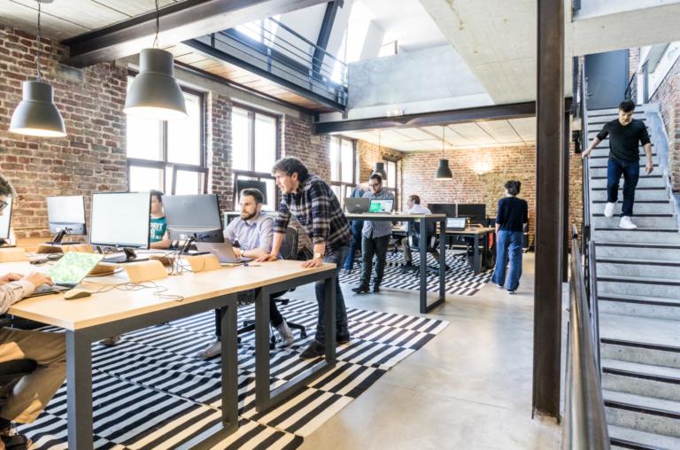 Diseñando los espacios de trabajo: Millennials
