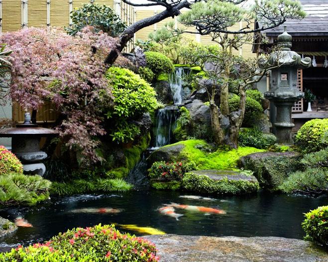 Este es un jardín japones
