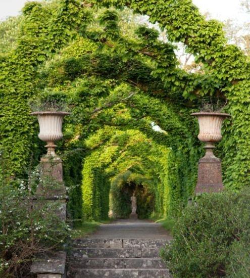 Es uno de los jardines mas romanticos